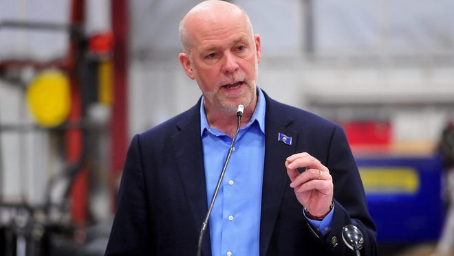 Greg Gianforte will take the oath of office Wednesday to be Montana's next lone member of the House of Representatives.