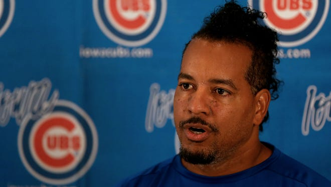 Jaron Madison, the Chicago Cubs' director of player development, said Manny Ramirez, a player-coach for the Iowa Cubs last season, would probably be back in Des Moines sometime this summer.