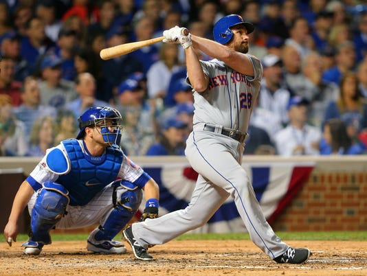 USP MLB: NLCS-NEW YORK METS AT CHICAGO CUBS S [BBA OR BBN] USA IL