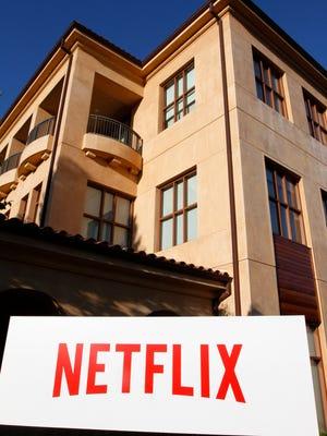Netflix headquarters in Los Gatos, California, Tuesday, July 8, 2014.