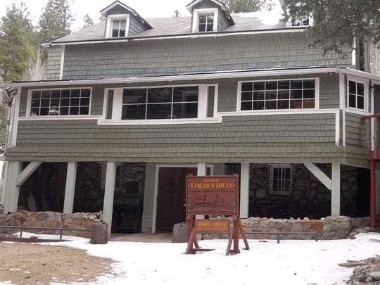 Built by hand in the 1920s, Wink's Lodge provided beds
