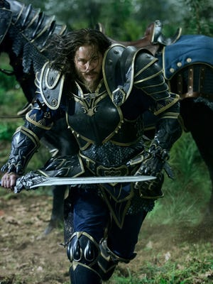 "Travis Fimmel plays the warrior Anduin Lothar in ""Warcraft."""