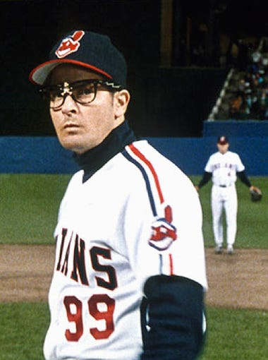 """10. """"Major League"""" (1989, rated R): What does a former"""