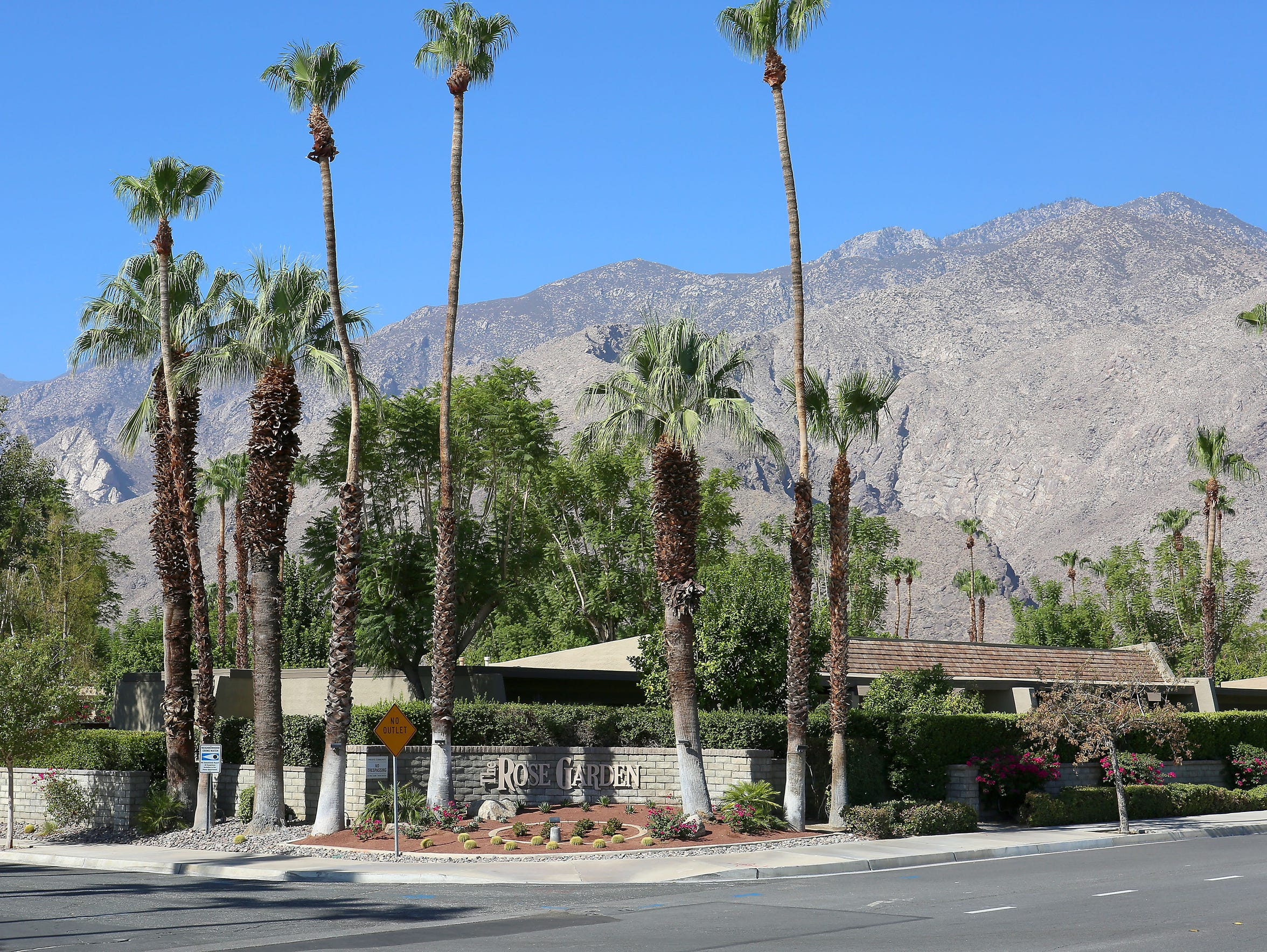 The Rose Garden neighborhood in Palm Springs.