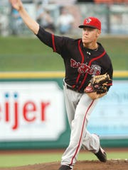 Noah Syndergaard was part of the starting rotation on a Lugnuts team that had the best record in franchise history.