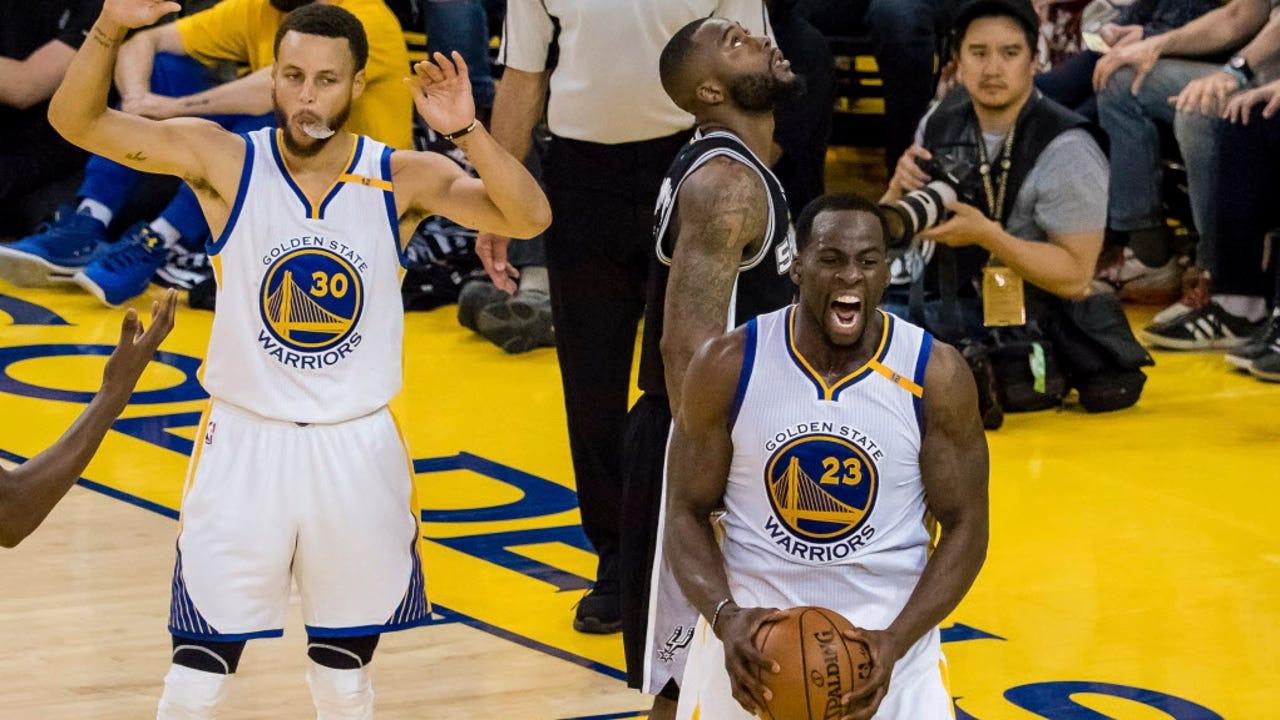 After Kawhi Leonard's injury, Spurs drop Game 1 to Warriors
