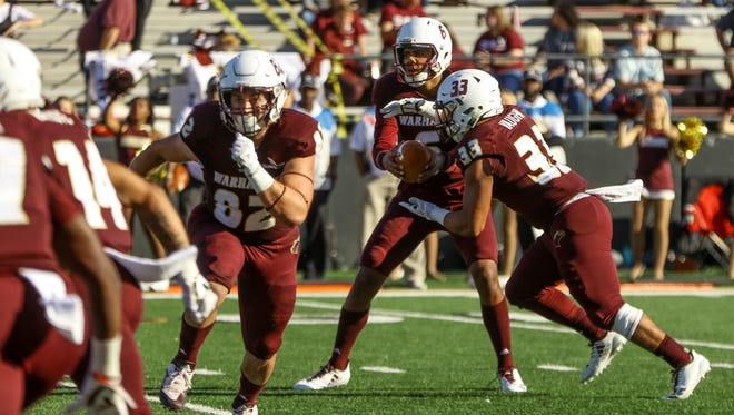 ULM's offense set a school record against Arkansas State by topping 50 points for the fourth time this season.