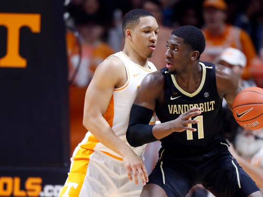 Vanderbilt forward Simi Shittu is expected to play for the Grizzlies' summer league team.
