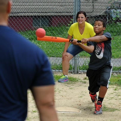 The Police Athletic League Summer Camp is underway
