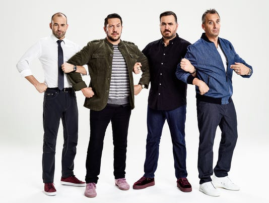 Joe Gatto Sal Vulcano Brian Quinn James Murray