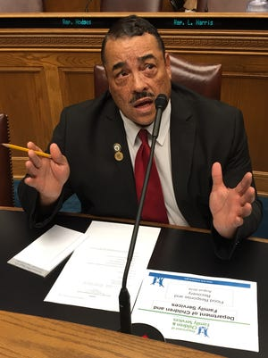 Louisiana state Rep. Kenny Cox, D-Natchitoches, was among the House Homeland Security Committee members briefed by FEMA in a file photo.