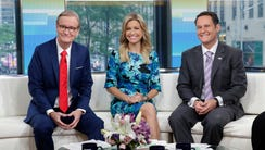 Co-hosts Steve Doocy, Ainsley Earhardt, and Brian Kilmeade,