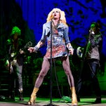 """This file image released by Boneau/Bryan-Brown shows Neil Patrick Harris in a scene from """"Hedwig and the Angry Inch,"""" at the Belasco Theatre in New York. """"Hedwig and the Angry Inch,"""" a cult off-Broadway hit, won eight Tony nominations on Tuesday, April 29, 2014. (AP Photo/Boneau/Bryan-Brown, Joan Marcus, File)"""