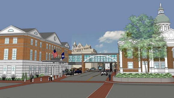 The City of Staunton sent an offer letter to Chairman Mike Shull Tuesday proposing consolidating the city and county courts downtown.