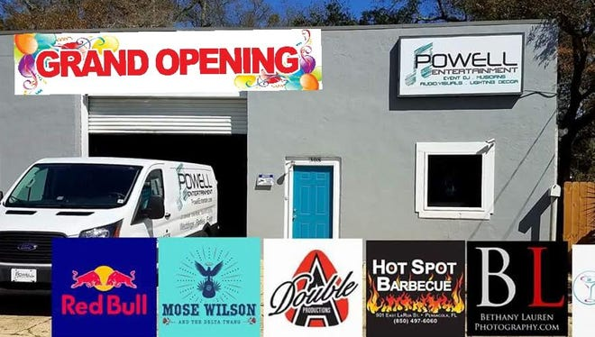 Powell Entertainment will hold a grand opening bash Saturday from 5 - 10 p.m.