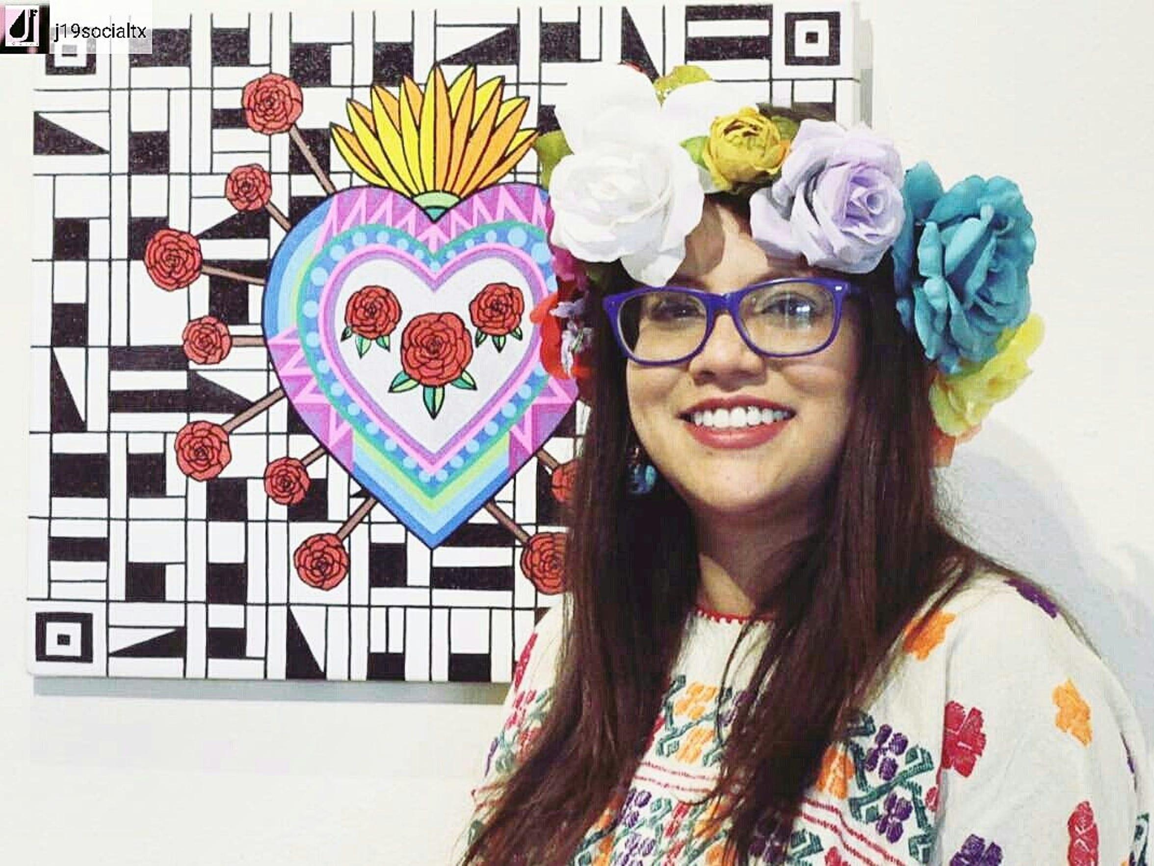 Chicana artist Mayra Zamora