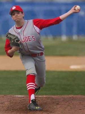 Junior left-hander Joe Marino has made a major impact this season for the St. Joseph High School baseball team.