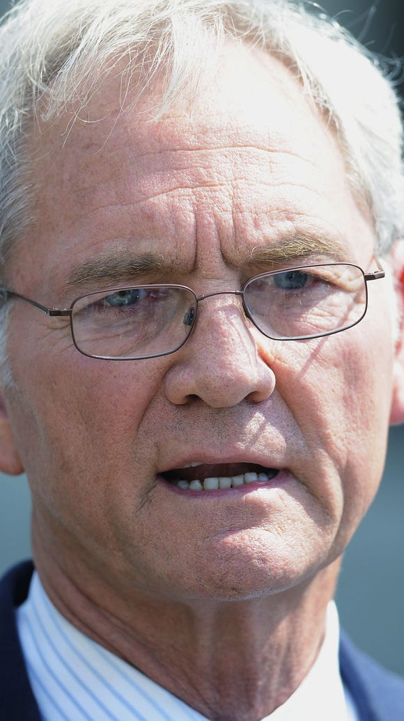 Former Gov. Don Siegelman wrote in the message that