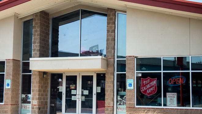 The Salvation Army Thrift Store located on North Broadway in Knoxville.
