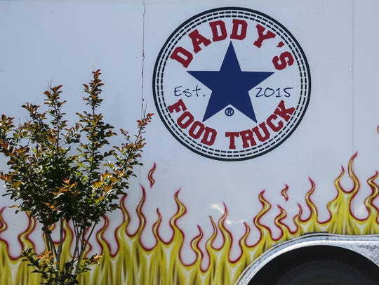 Daddy's Food Truck is at 3301 Arden Road, in the Fiddlestrings parking lot.