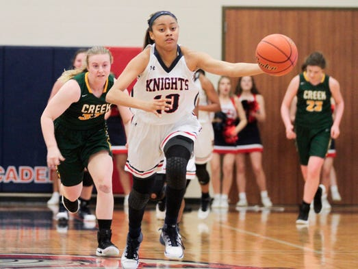 Abrams propels lady knights to semifinals for Cronotermostato lafayette cds 30