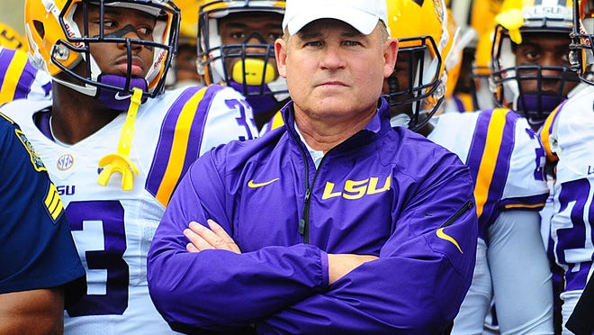 """LSU football coach Les Miles visited an area hospital Monday morning after """"feeling under the weather,"""" but was expected to be at a 4 p.m. practice."""