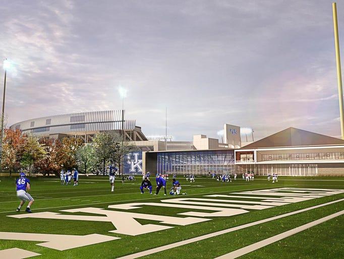 renderings of new uk football training facility