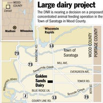 DNR weighs decision on large dairy project