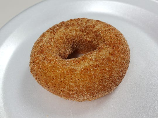 Chipotle limon doughnut from Welcome Chicken + Donuts in Phoenix, AZ.