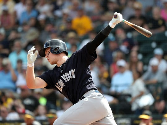The Yankees are reportedly recalling third baseman Brandon Drury from Triple A Scranton/Wilkes-Barre prior to the weekend three-game set against the Boston Red Sox, which begins Friday, June 29, 2018.