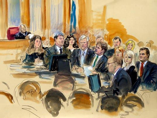 AP Former Governor Trial