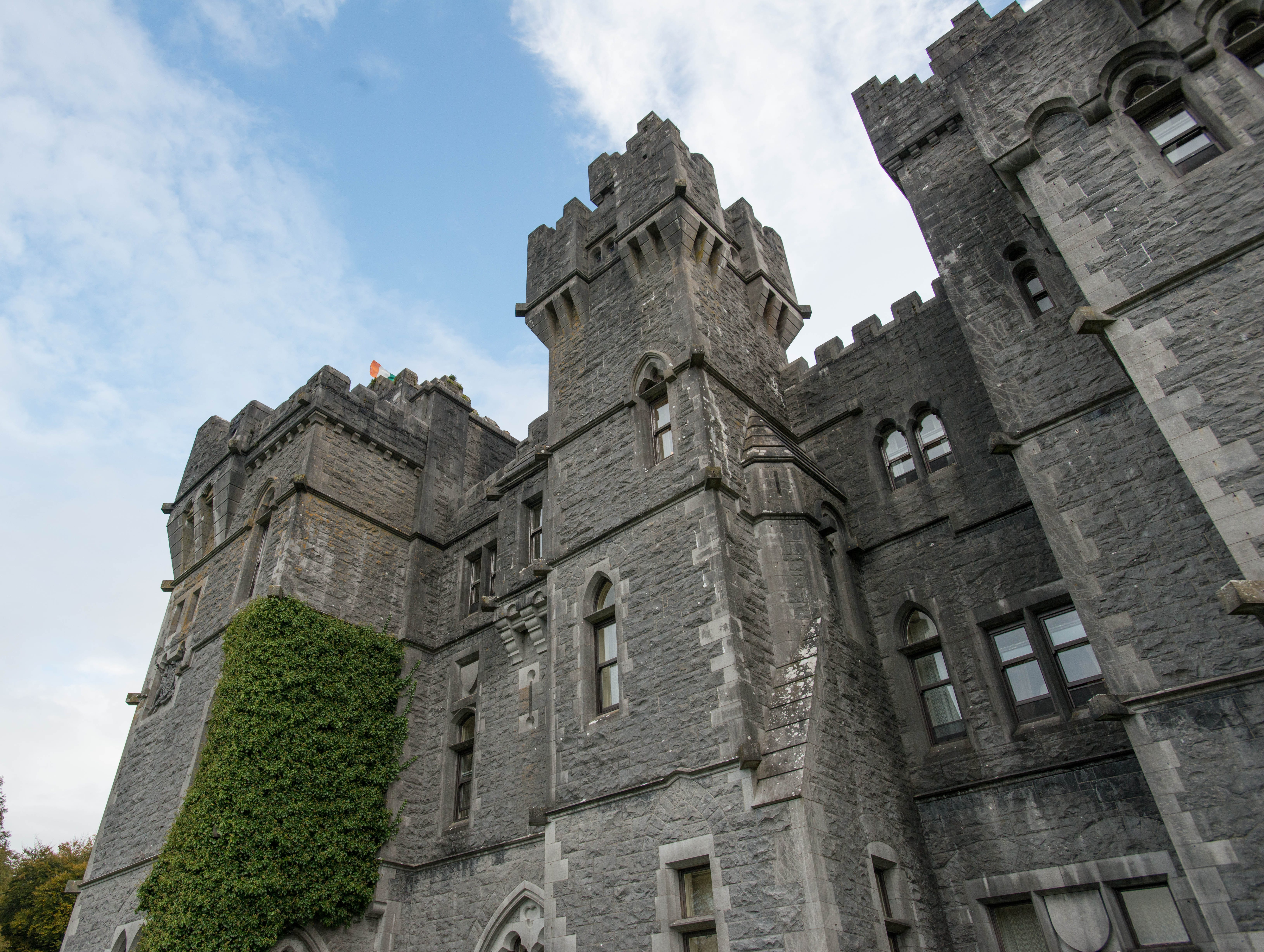 Ashford Castle, Ireland: Ashford Castle embodies the fantasy of the Irish castle hotel, featuring a massive historic stone facade, complete with towers and turrets; gorgeous, manicured grounds; a stunning setting on a huge lake; and common spaces that are truly grand, with rich wood paneling, chandeliers, and antique furniture. The wide range of estate activities includes falconry lessons, boat tours on the lake, golf on the 9-hole course, clay shooting, and archery.