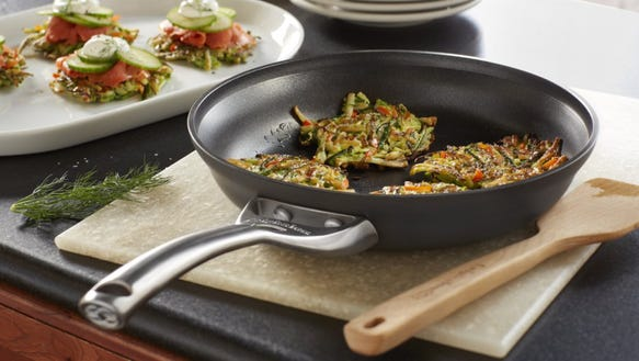 Cook with no oil in a nonstick pan.