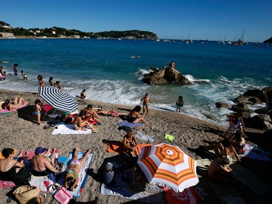 EPA FRANCE TOURISM FRENCH RIVIERA EBF WEATHER TOURISM & LEISURE FRA