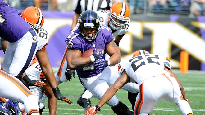 Former Ravens RB Ray Rice is certainly familiar with the Browns.