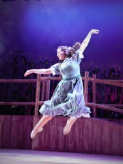 """Madison High School's """"Oklahoma!"""" received seven nominations/honorable mentions for the Paper Mill Rising Star Awards. Pictured is Erin Salko."""