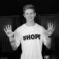 Gallery: #HOPE seniors pose for suicide prevention