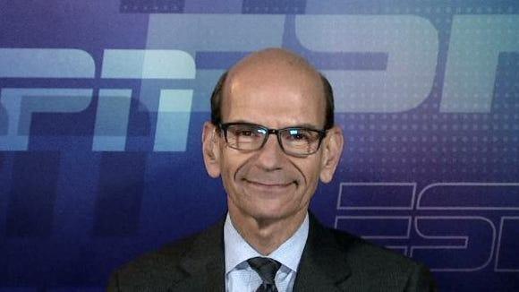 Radio host and SEC Network analyst Paul Finebaum