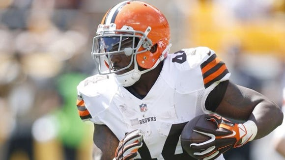 Former Auburn star Ben Tate has been released from the Cleveland Browns.