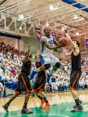 Bernard Thompson (2011-15) is FGCU's all-time leading scorer and a cornerstone of Dunk City.