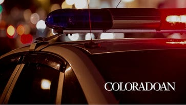 Two people were hospitalized after a shooting outside a Denver nightclub Sunday.