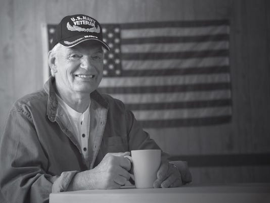 Dave Bahr of Sioux Falls, S.D., dedicated over three decades of his life to serving in the Navy, Navy Reserve, Army and South Dakota National Guard.