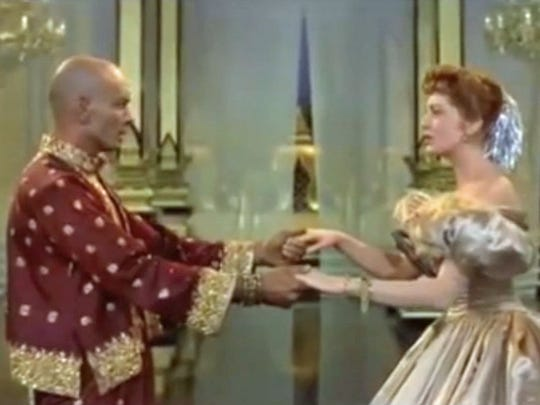 "Yul Brynner (left, dancing with Deborah Kerr) won an Oscar for his performance in ""The King and I."""
