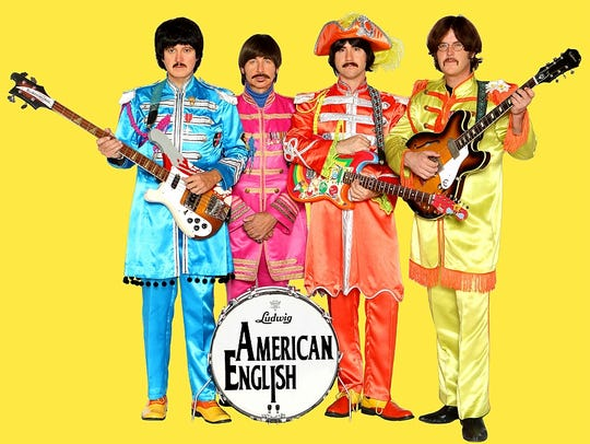 """The """"Sgt. Pepper"""" years."""