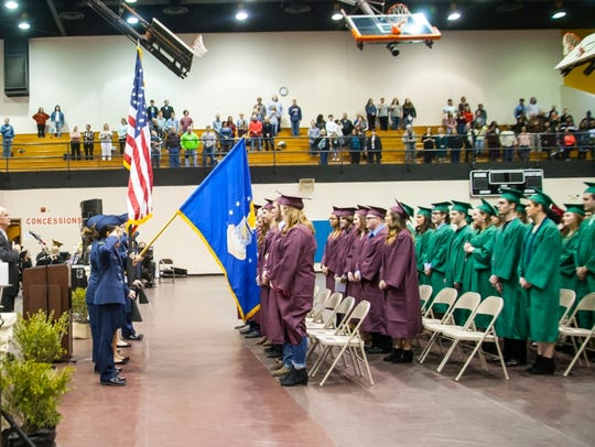 Seventy-four students from all six district high schools