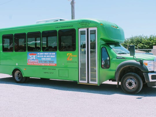 Shown in this file photo is a Z-Trans Public Transportation bus.
