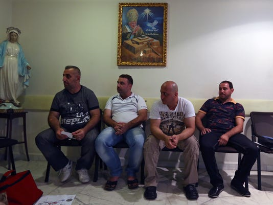 Mideast Lebanon Christians in Peril (3)