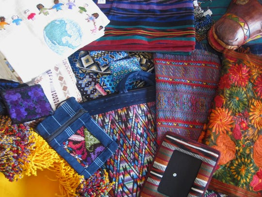 Handmade Guatemalan goods that will be available for