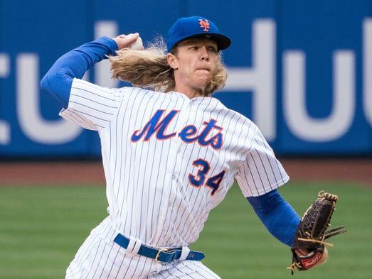 March 29: Noah Syndergaard, Mets, 10 vs. Cardinals