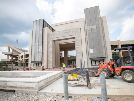 Indiana University Excellence Academy construction,